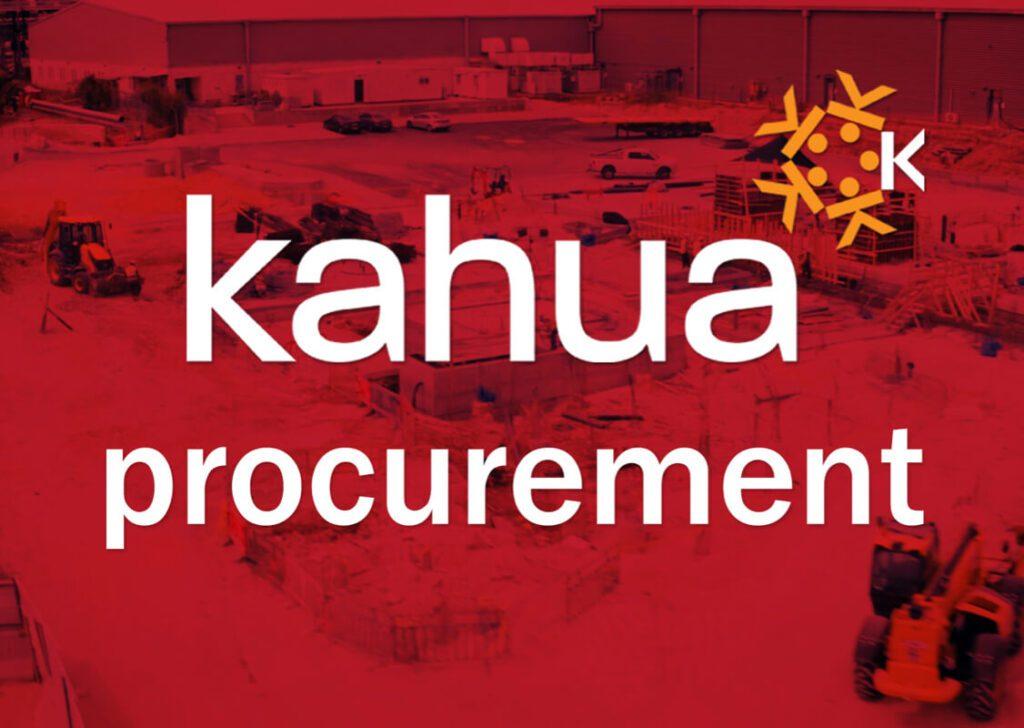 Kahua Procurement